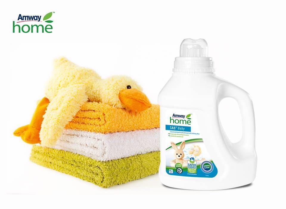 Detergent amway baby