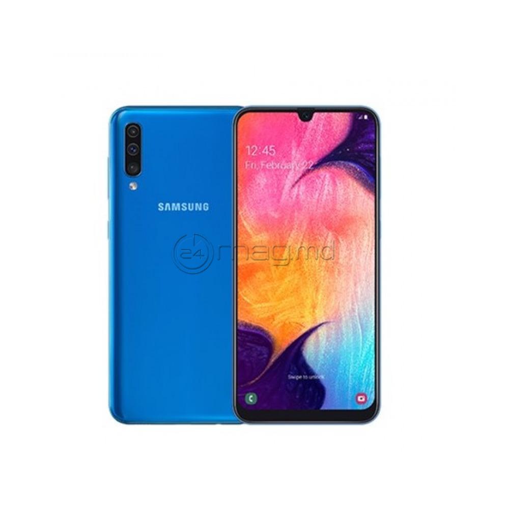 Telefon Mobil SAMSUNG A50 64Gb Blue Nou (Credit-Livrare)/ Мобильный телефон SAMSUNG A50 64Гб Blue