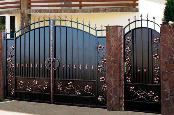 ворота кованые куплю