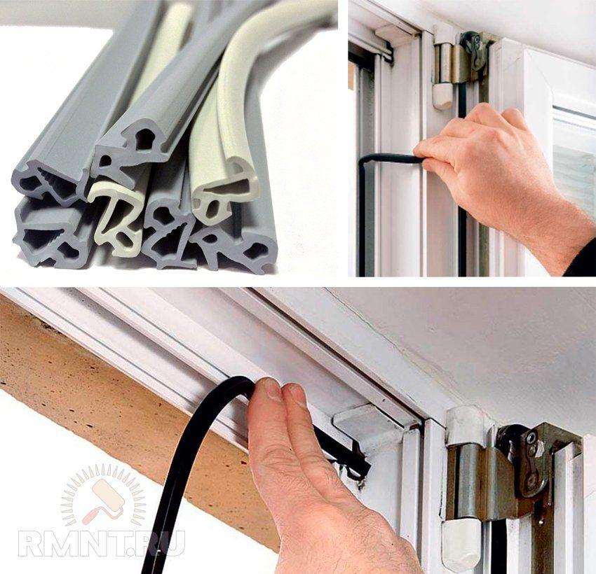 Поменять уплотнитель на пластиковых окнах 166