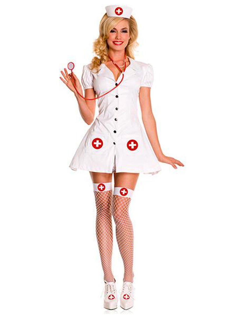 Новогодний костюм медсестры для женщины своими руками