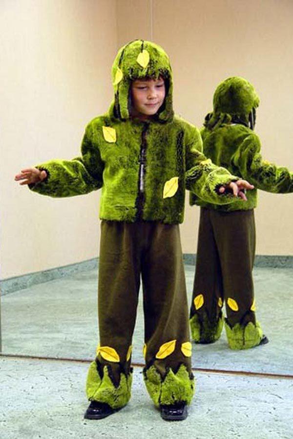 Детский костюм леший своими руками фото