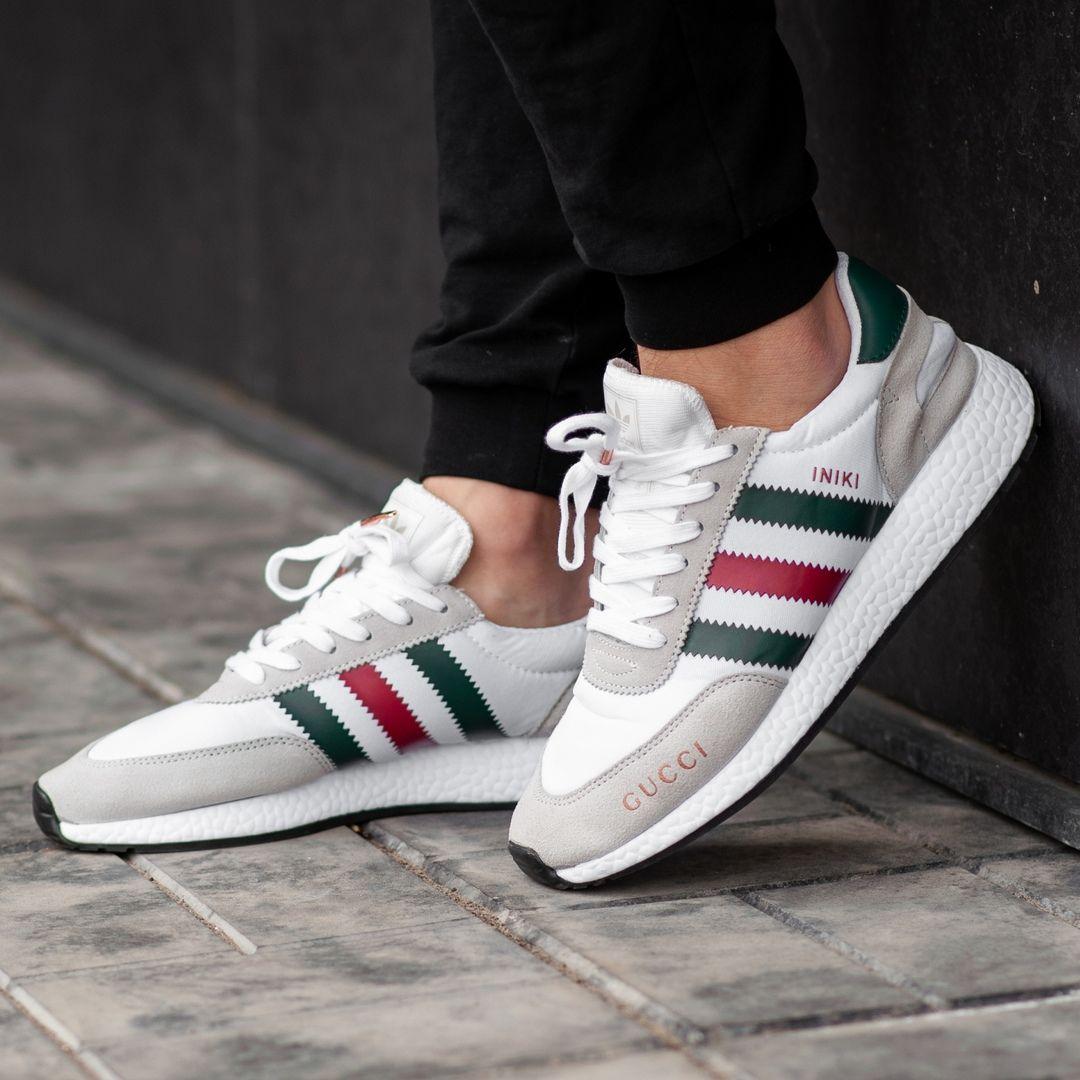 Adidas INIKI x Gucci Grey