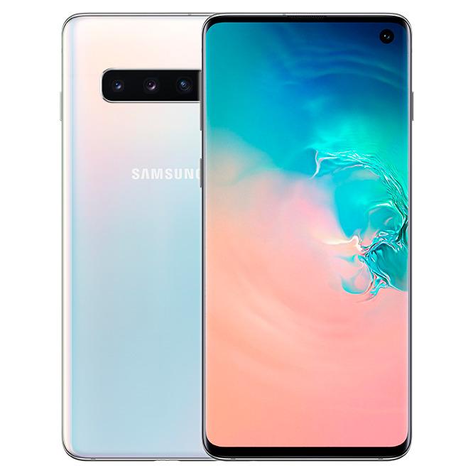 Samsung Galaxy S10 G973  8 gb, 128 gb, dual sim, белый