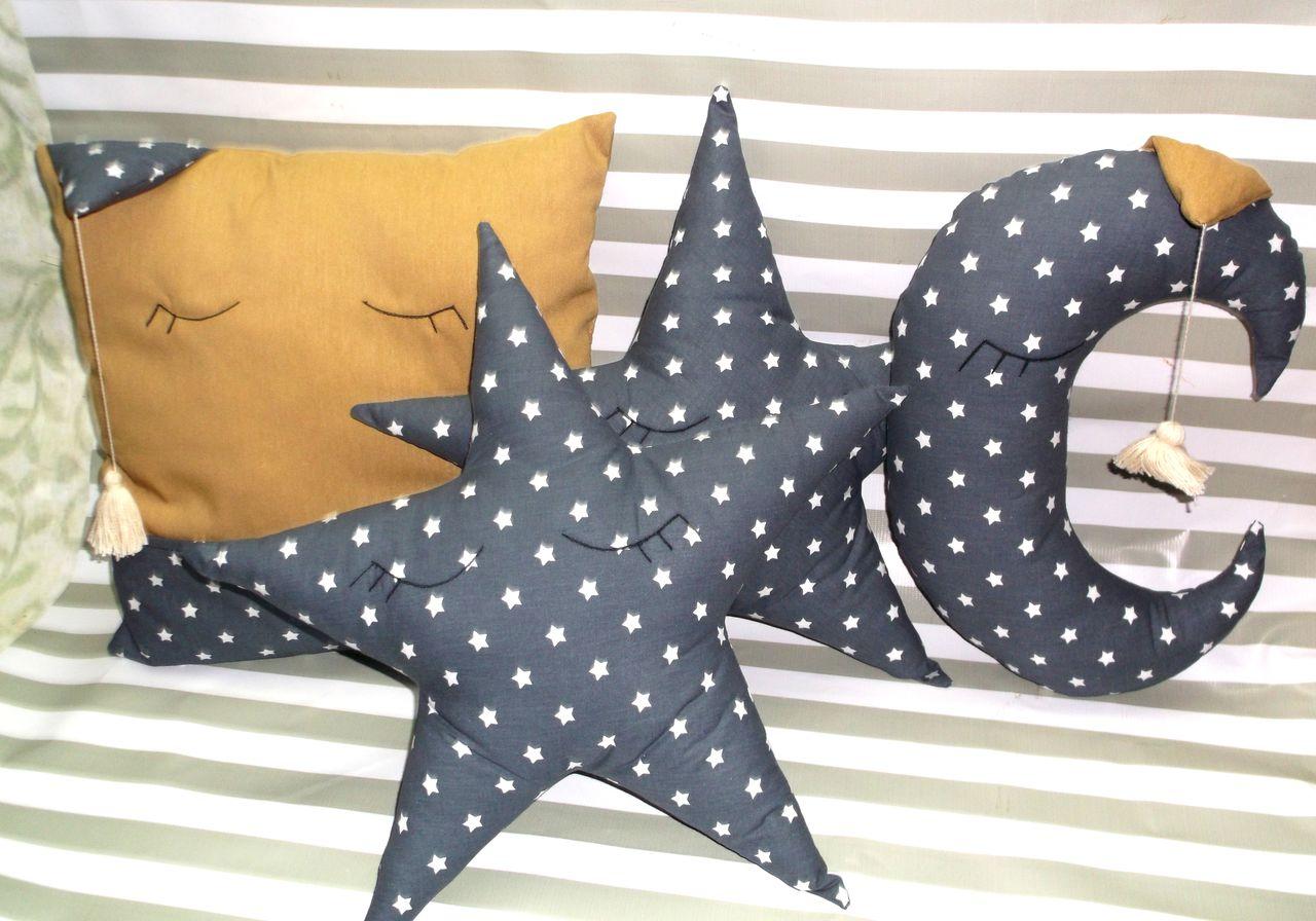 Подушку звезду как сшить
