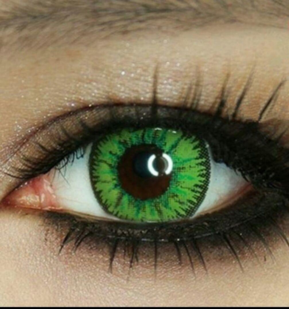 Линзы зеленые картинки