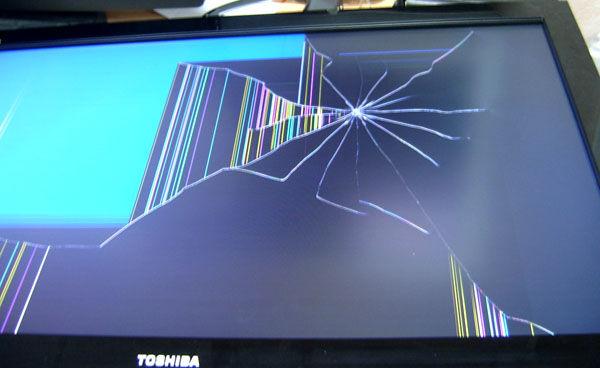сколько стоит починить матрицу на телевизоре она