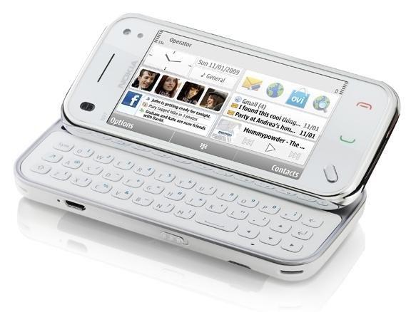 Nokia n97 mini - white (unlocked) smartphone 8gb - qwerty grade b - warranty