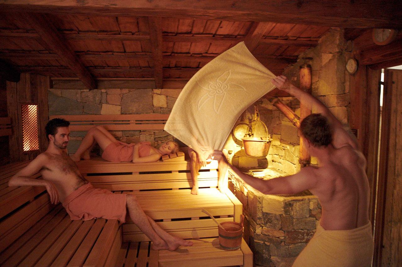 общая мужская и женская бани видео