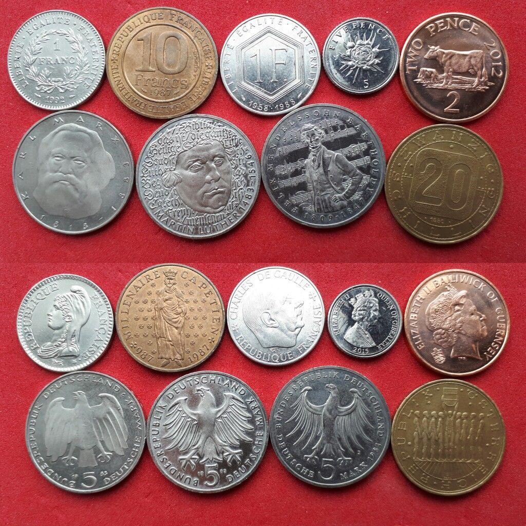 отмечают высокую монеты всех стран мира фото и название район, близость самых