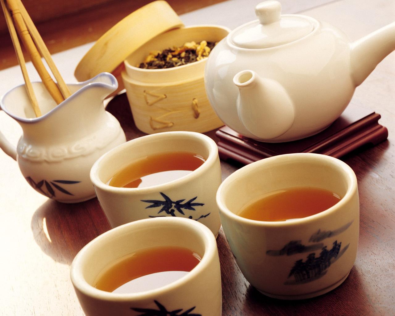 frumusețea delicată de ceai