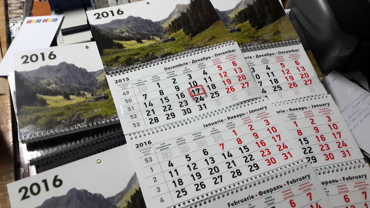 Calendare personalizate de toate tipurile pentru 2019 ...