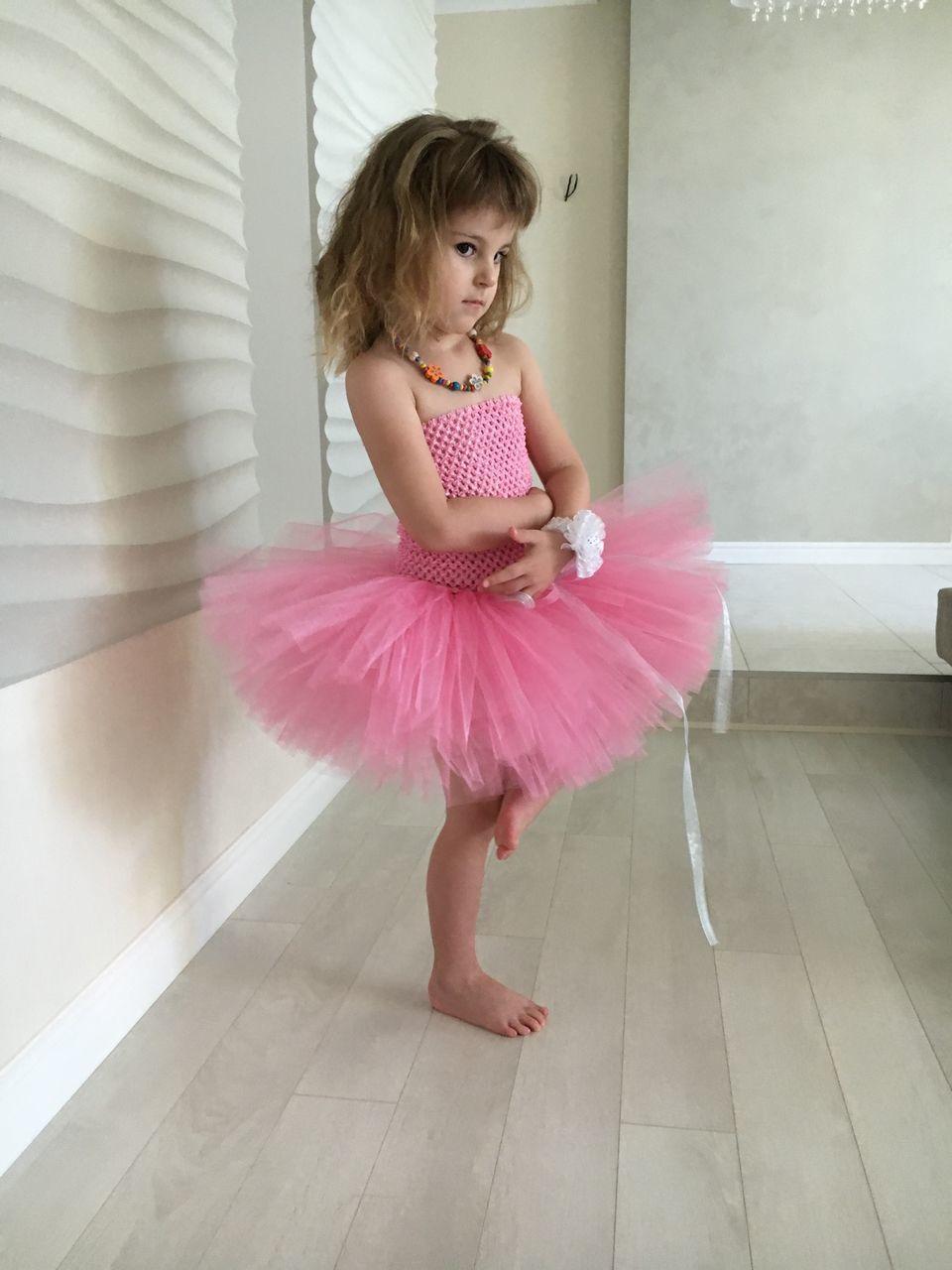 Юбка из фатина для девочки 4 лет своими руками