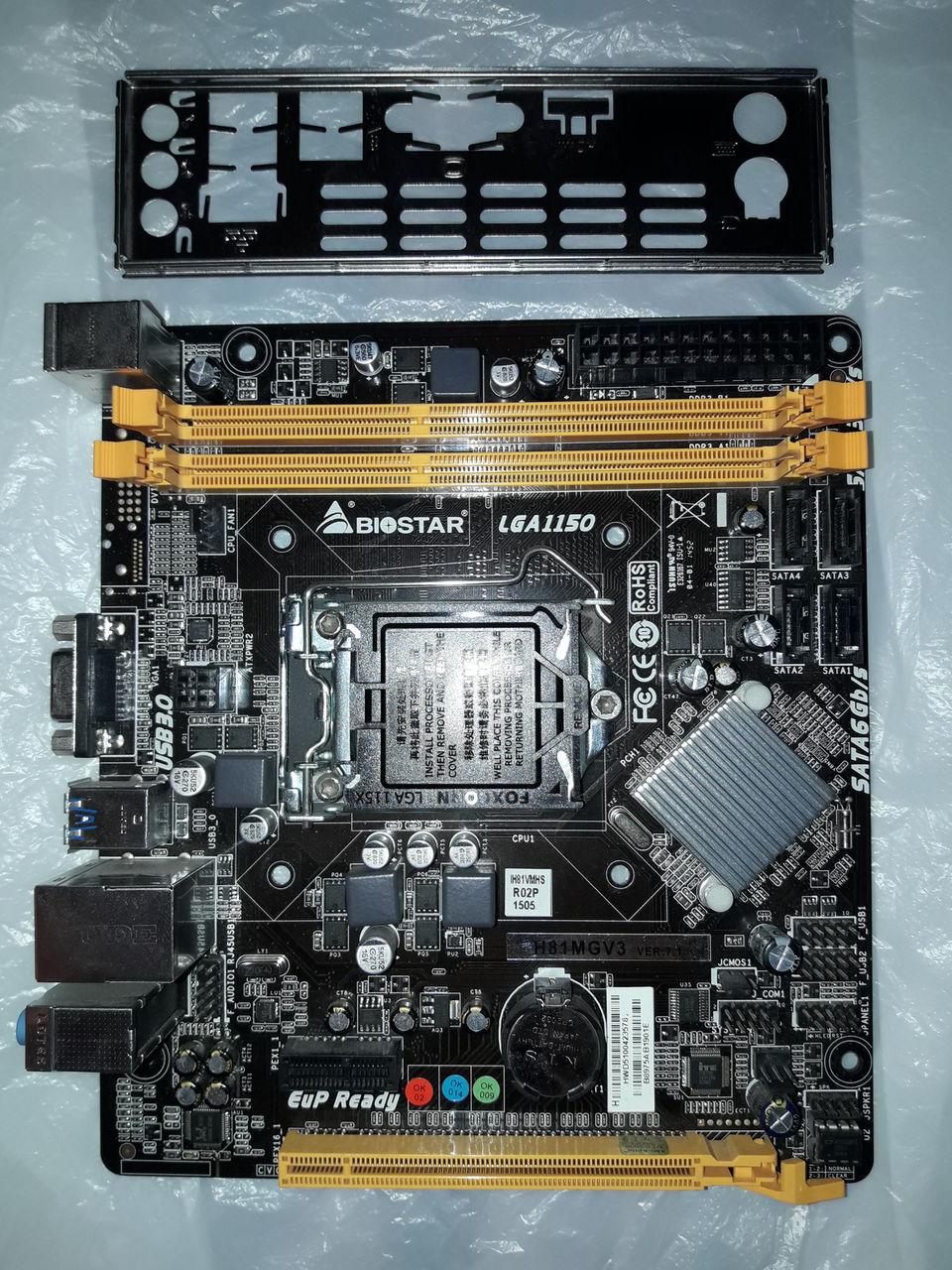 BIOSTAR H81MGV3 TREIBER WINDOWS XP
