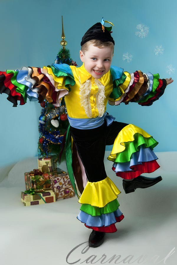 Костюм на карнавал на девочку своими руками