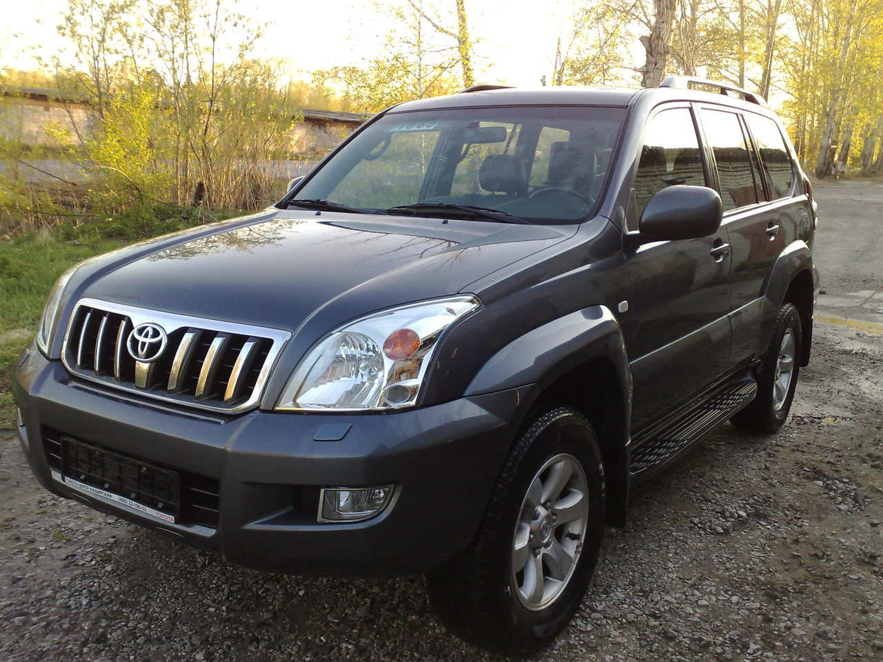 Toyota Land Cruiser Prado (Тойота Ленд крузер прадо ...