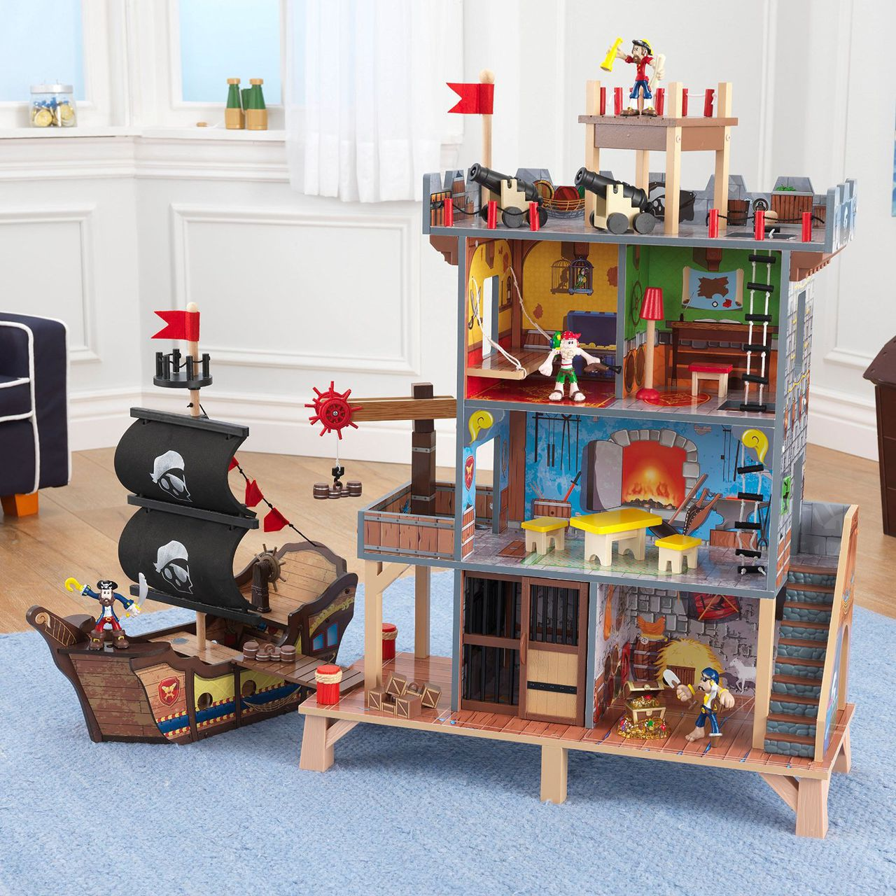 Пиратский дом своими руками
