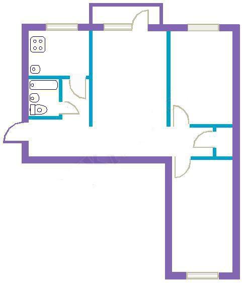 Дизайн квартир трехкомнатная хрущевка