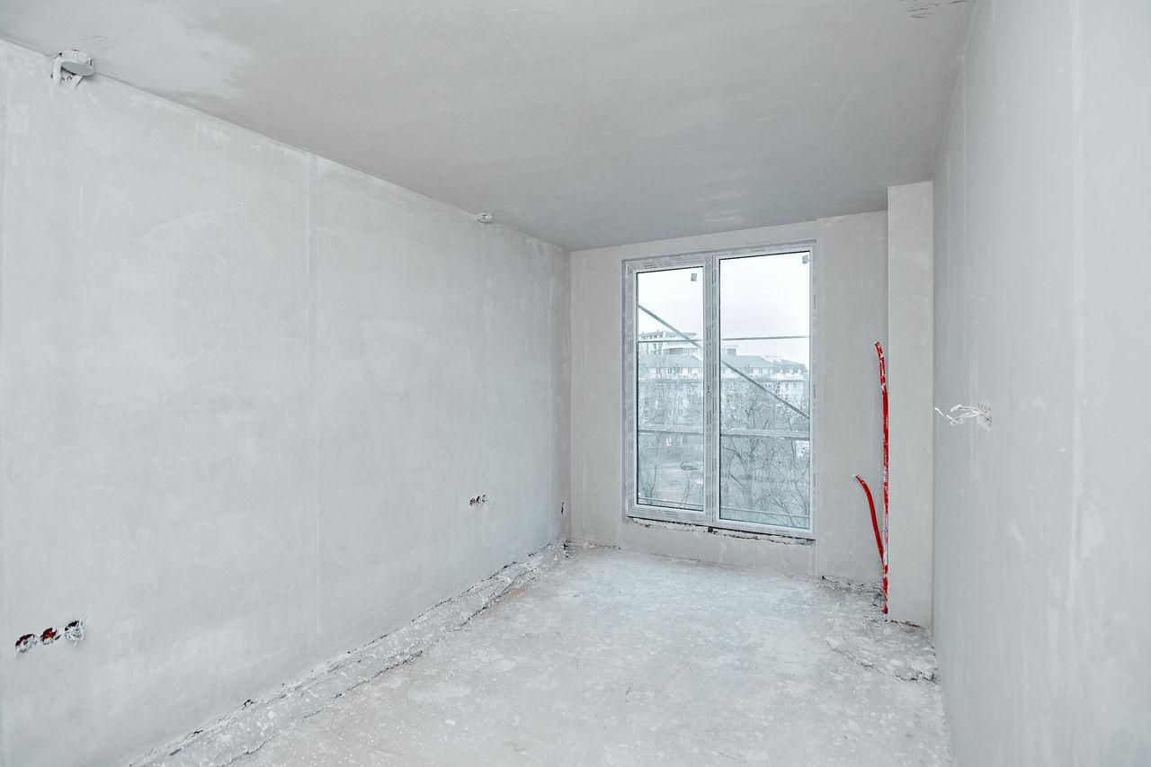 68 mp – 2 dormitoare, bucătărie + living și terasă de tip deschis, etaj 4