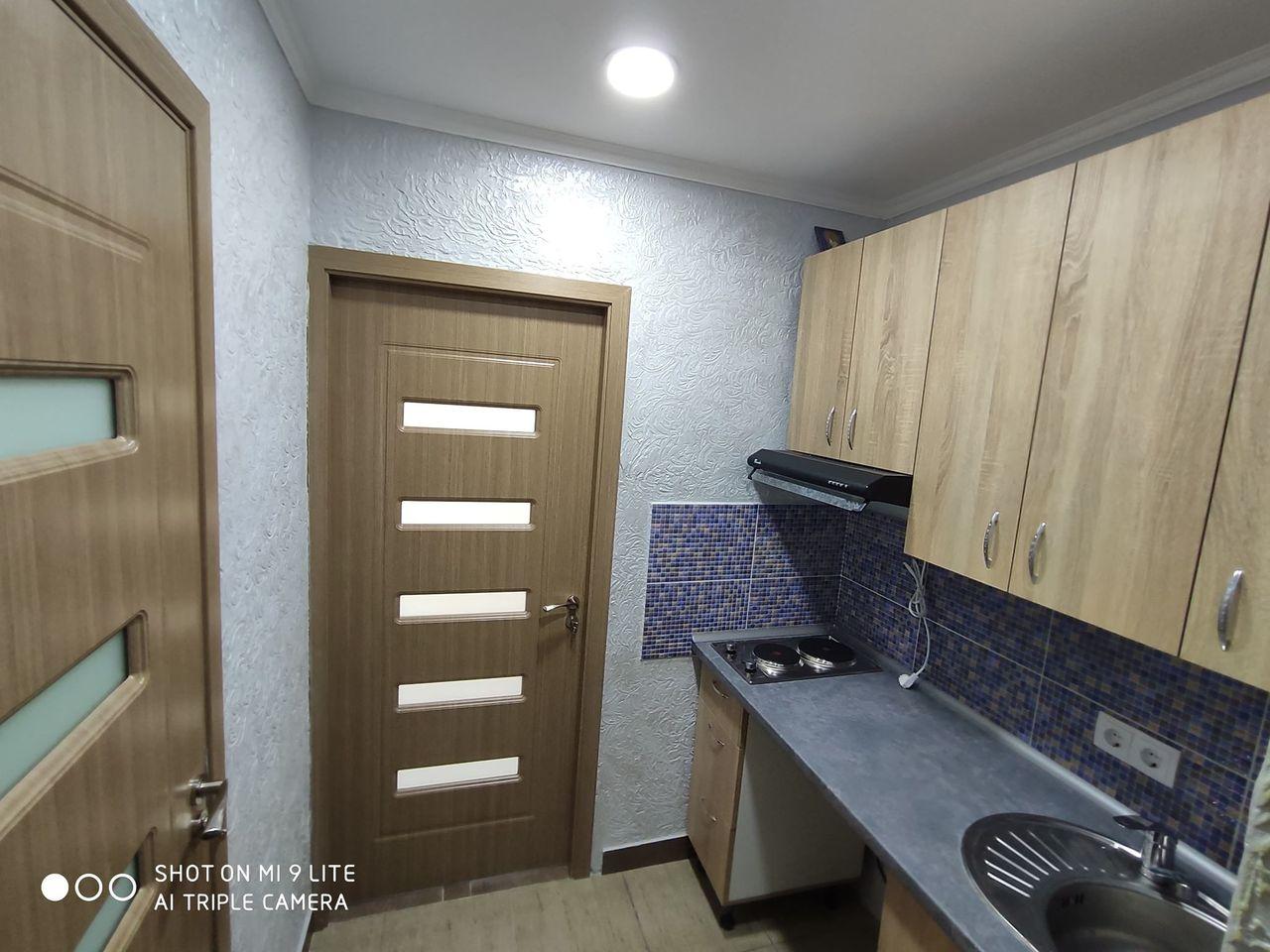 Cameră cu WC, baie, bucătărie,balcon Totul NOU Ciocana 15 200 Euro