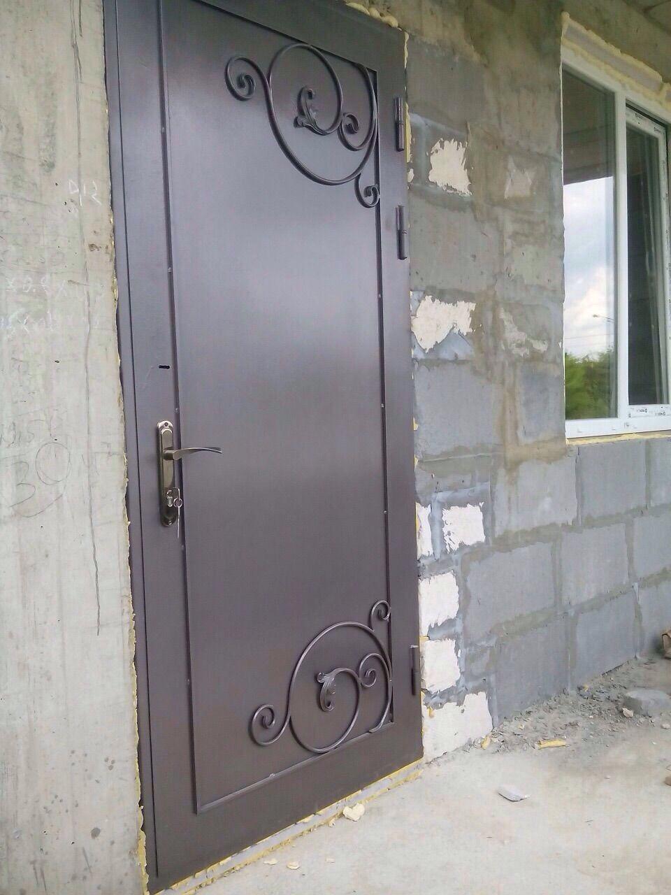 металлической двери 90 см