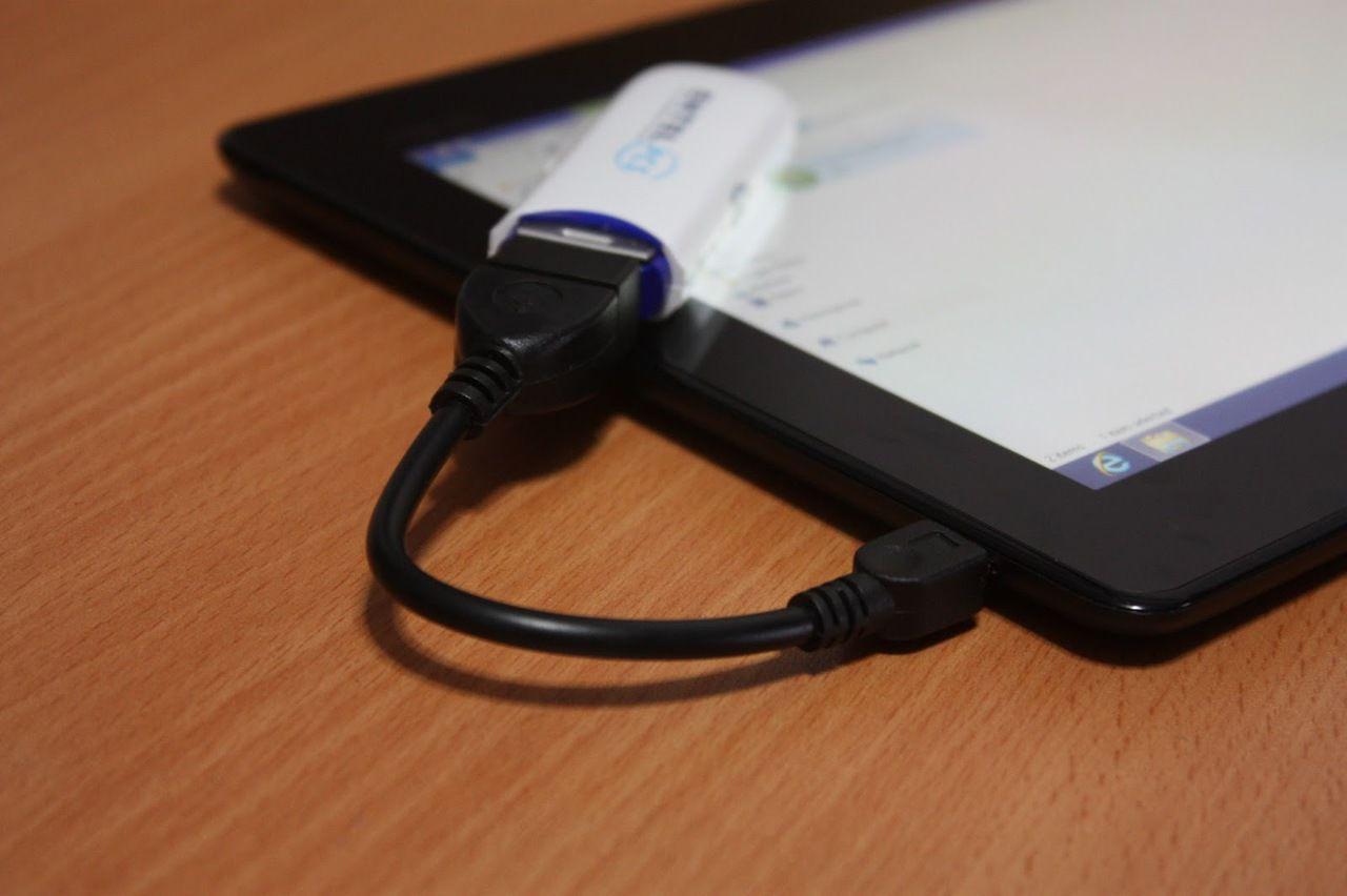 какие программы необходимы для подключения модема к планшету