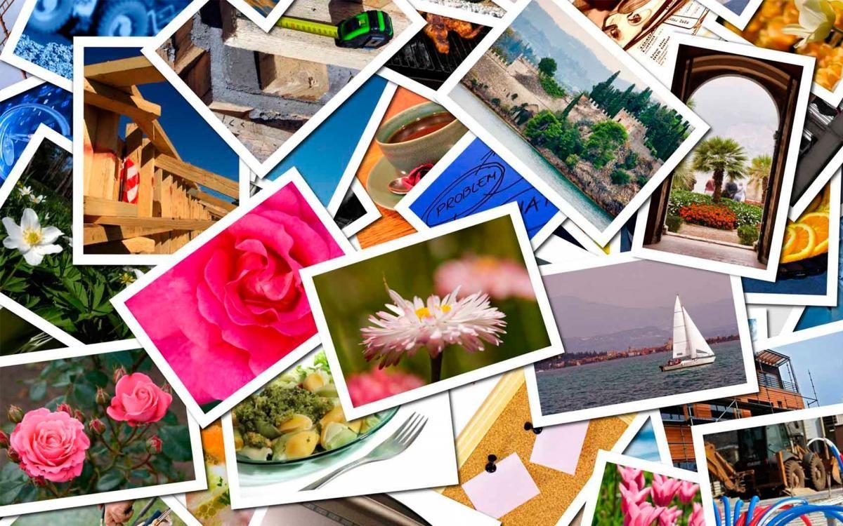 Грусти, фотоколлажи с открытками