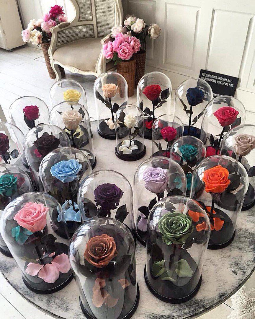 Розы в колбе как сделать