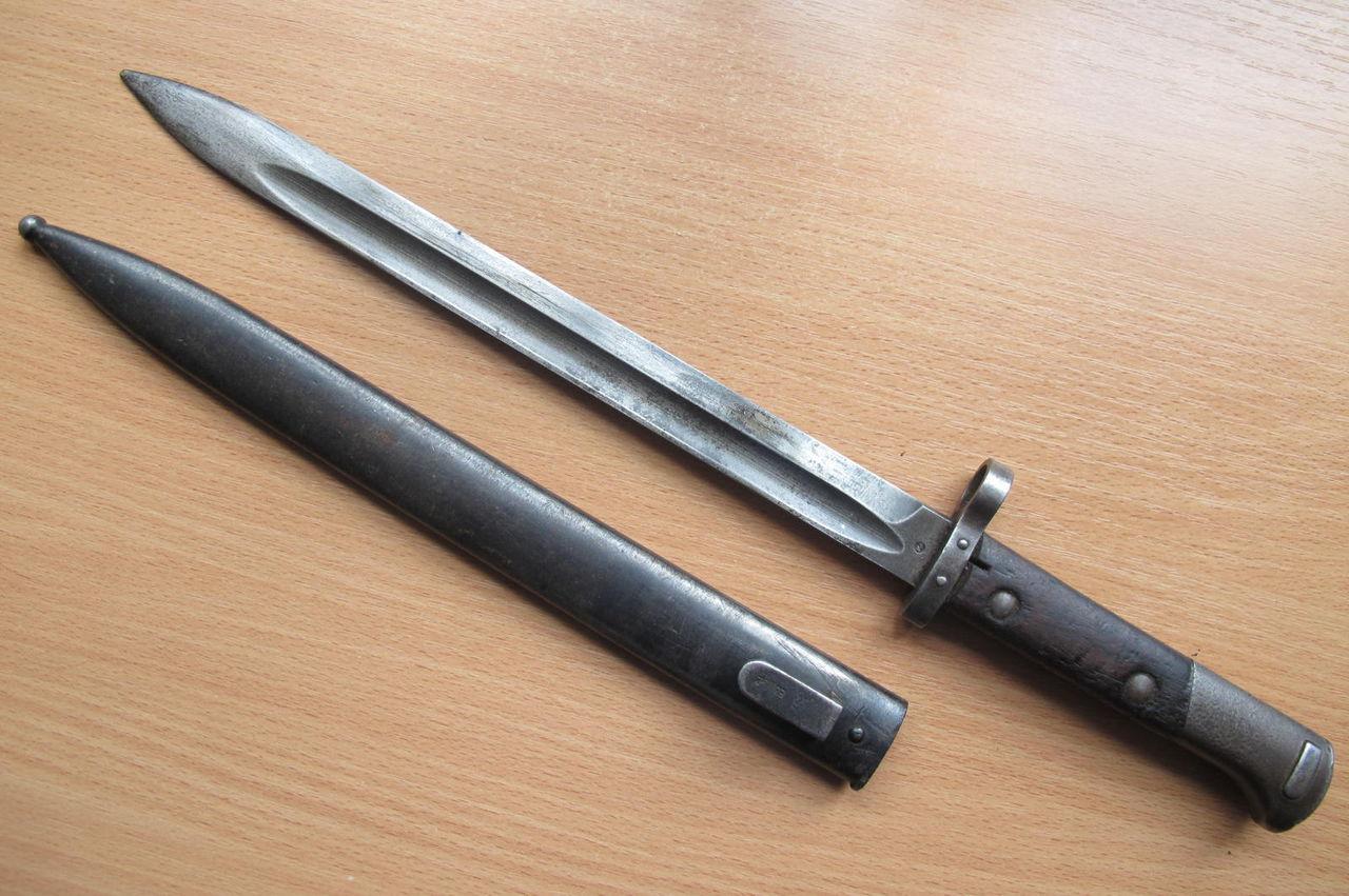 Виды немецких штык ножей фото