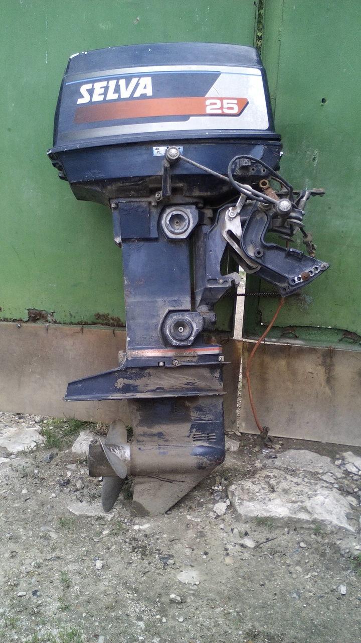 Ремонт лодочных моторов сельва своими руками 86