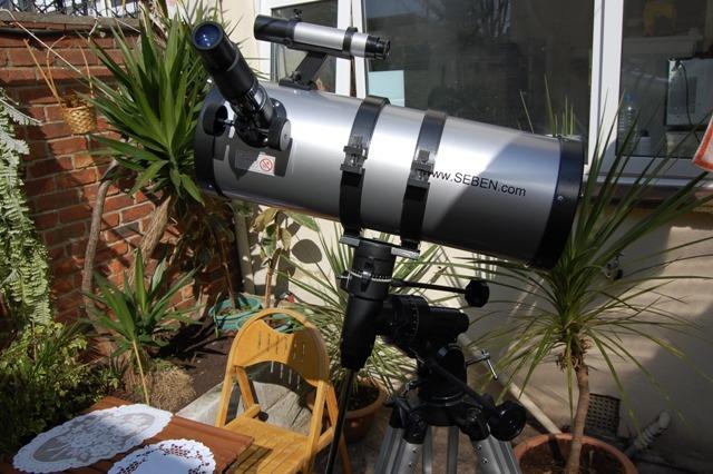 Telescop seben big boss 1400 150