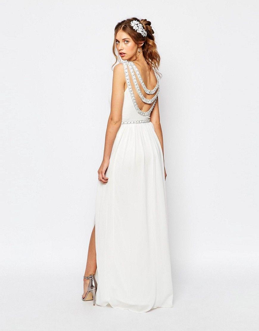 Asos fishtail wedding
