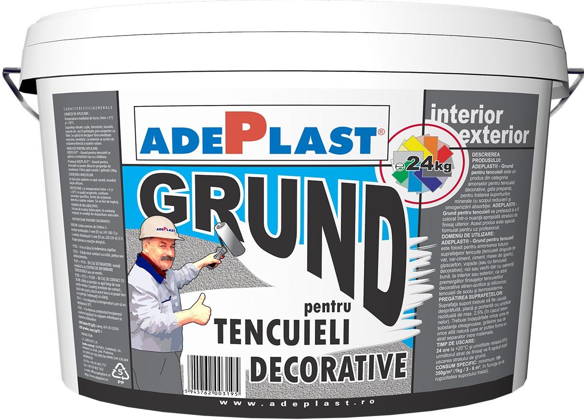Tencuiala Decorativa Sauber Dekor.Polistiren Polistiren Grafitat Tencuiala Decorativa Grund Adeplast