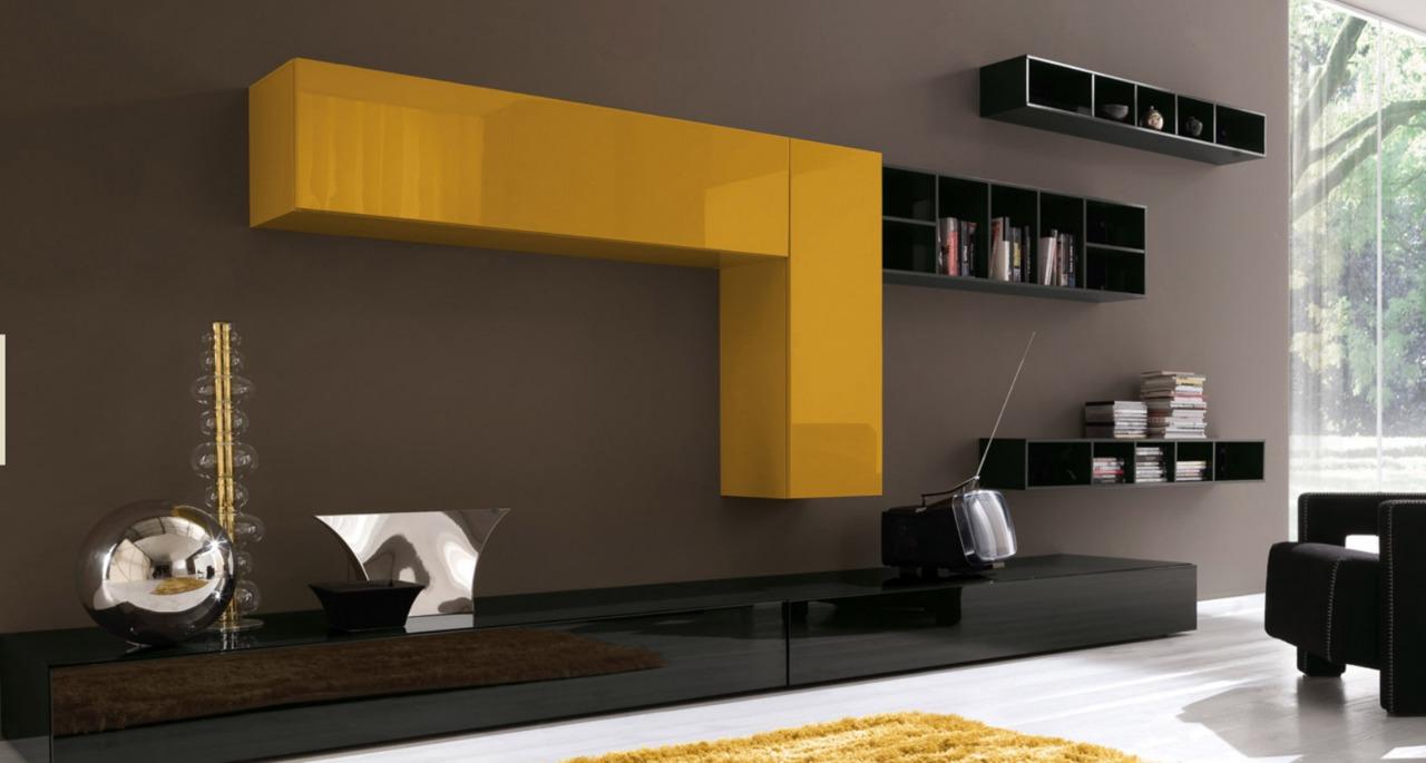 Новинки дизайна мебели года - стенки, горки, гостиные. гости.