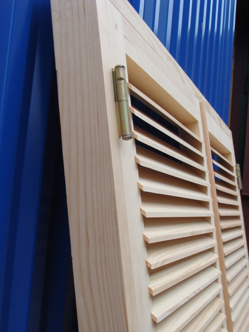 Ставни деревянные жалюзи