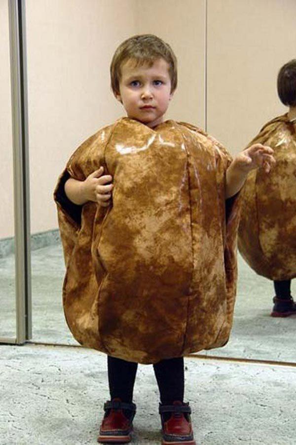 Как сделать костюм картошки своими руками для мальчика