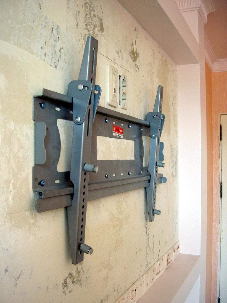 Крепление телевизора на стену своими руками фото 24