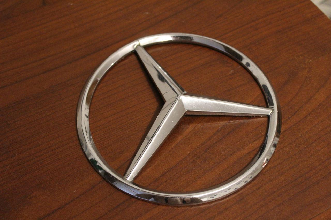 Как сделать значок мерседес своими руками. бортжурнал Mercedes-Benz 63