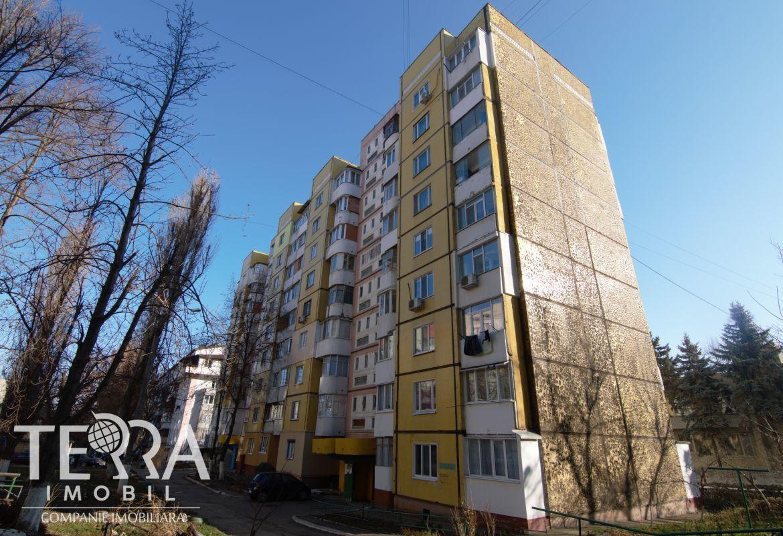 Botanica Str Cuza-Vodă , apartament cu 3 camere, 78 mp