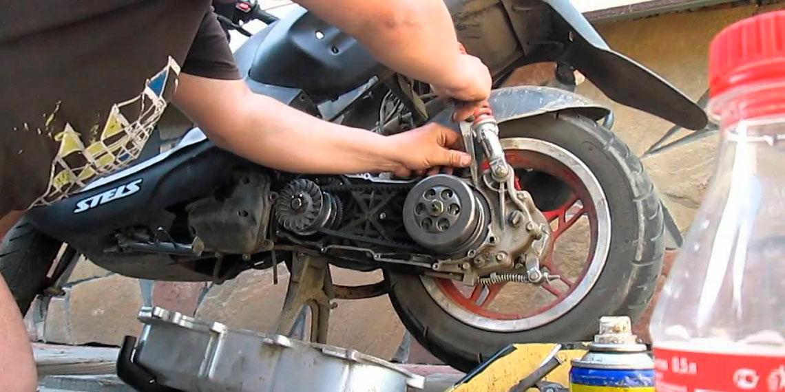 Скутер китайский ремонт своим руками 7