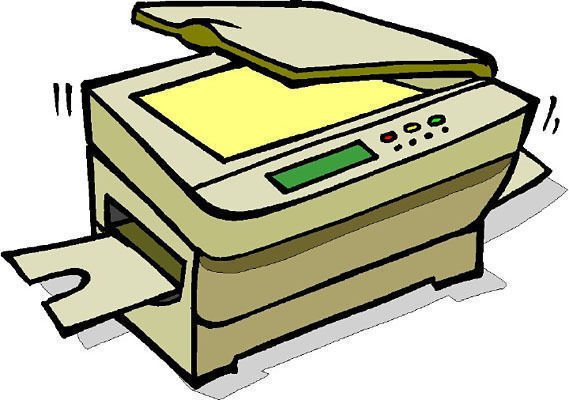 Рисунки из ксерокса