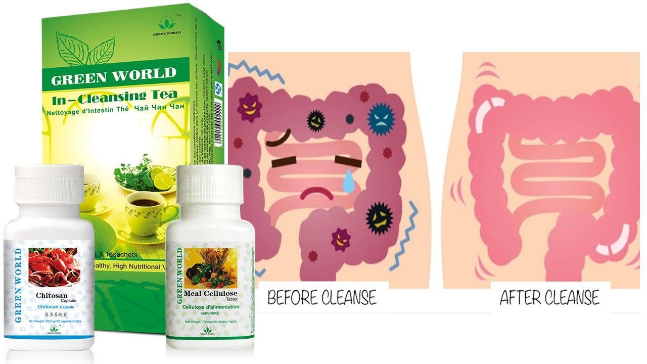 detox curăță intestinul