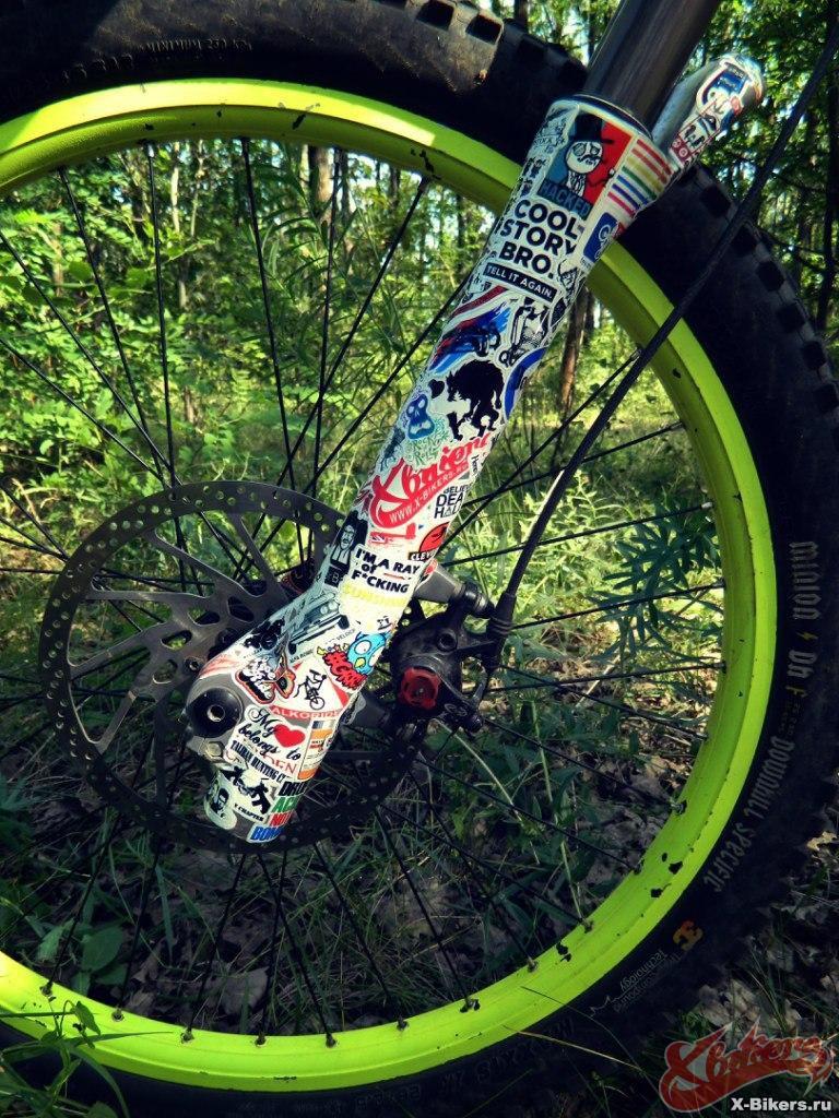Стикербомбинг своими руками на велосипед Staramba.ru
