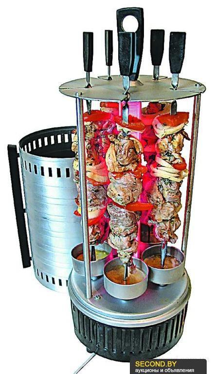 Электрошашлычница шампура отдельно купить спб