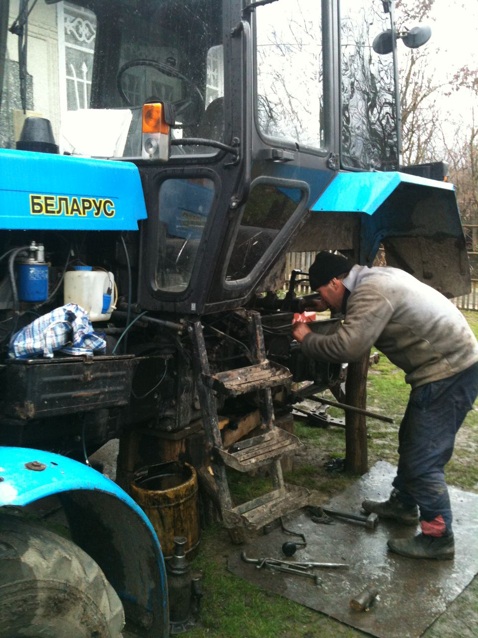 Ремонт трактора мтз-80 своими руками видео