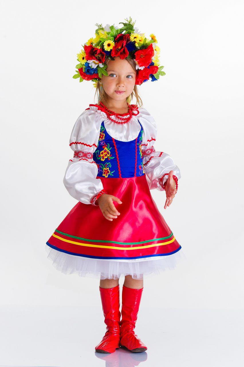 Костюм украинки для девочки 33