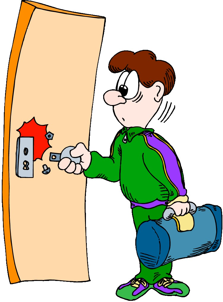 Картинка закрыть дверь