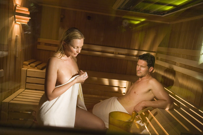 The nude sauna is a way of life in finland