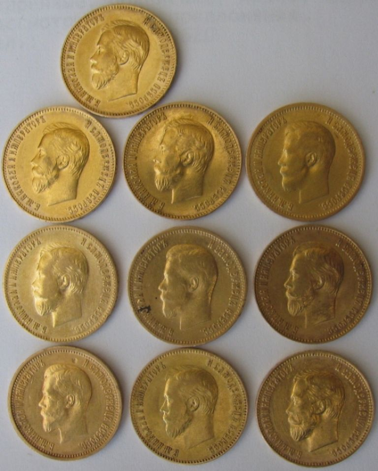 Где купить золотые монеты царской россии