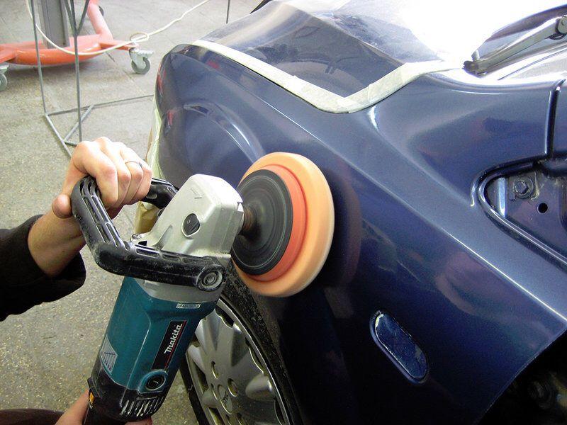 Полировка кузова автомобиля своими руками машинкой